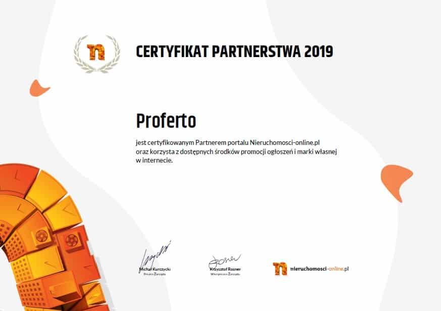 Certyfikat nieruchomosci-online.pl