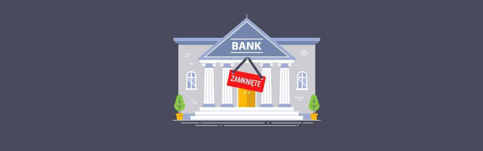 Banki zamykają oddziały
